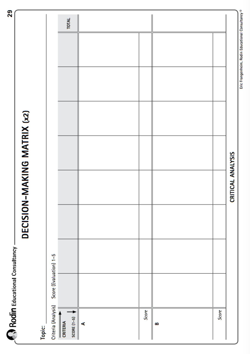 thinking tools templates for teachers 34 blackline masters